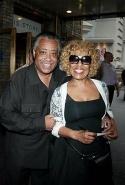 Al Sharpton and Roberta Flack
