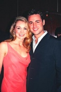 Kimberly Dawn Neumann (Susan Mahoney) and Max Von Essen