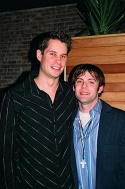 Jon Hartmere Jr. (Lyricist/Co-Author) and Damon Intrabartolo (Composer/ Co-Author/Mu Photo