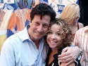 Current Caldwell B. Cladwell, Charles Shaughnessy and former Little Becky Two Shoes  Photo