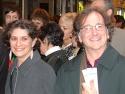 First nighter couple Adrianne Lobel and Mark Linn-Baker