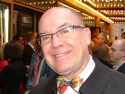 Tony Award-winning director, Jack O'Brien smiles for the BroadwayWorld.com camera