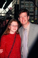 Dylan Baker and daughter Willa