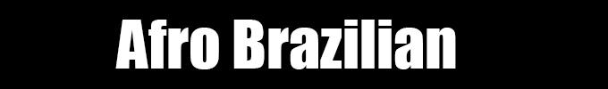 DANCE - AFRO BRAZILIAN
