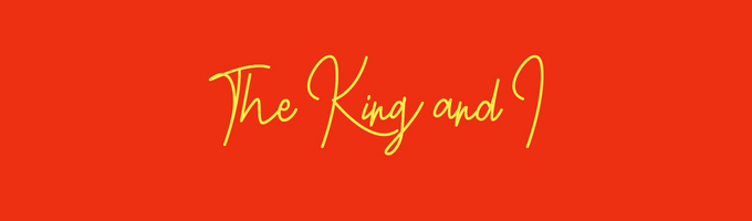 The King and I film