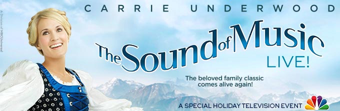 THE SOUND OF MUSIC on NBC