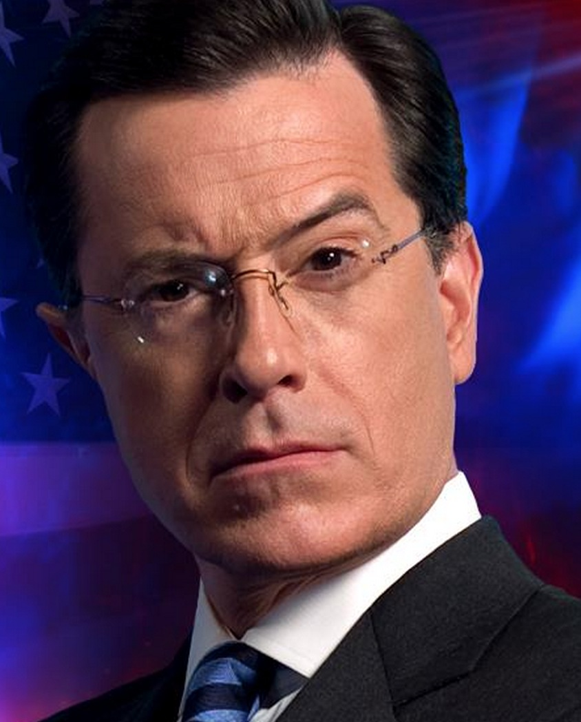 The Colbert Report logo