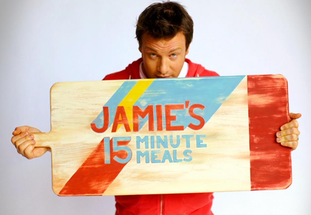 Jamie 39 s 15 minute meals logo - Jamie en 15 minutes ...