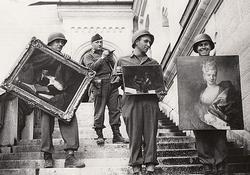 Hunting Hitler's Stolen Treasures: The Monuments Men small logo