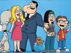American Dad! small logo