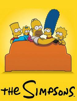 The Simpsons small logo