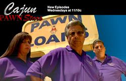 Cajun Pawn Stars small logo
