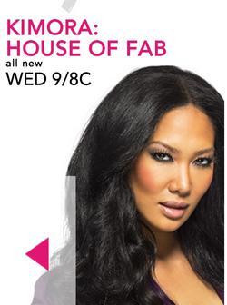 Kimora: House of Fab small logo