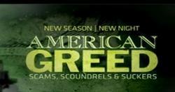 American Greed small logo