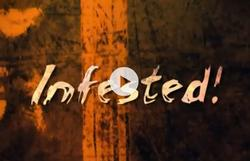 Infested small logo