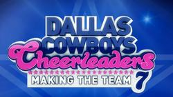 Dallas Cowboys Cheerleaders: Making the Team small logo