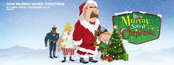 How Murray Saved Christmas small logo