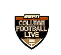 live college football football game tonight on tv