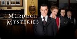 Murdoch Mysteries small logo