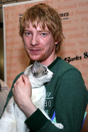 Domhnall Gleeson at Broadway Barks 8!