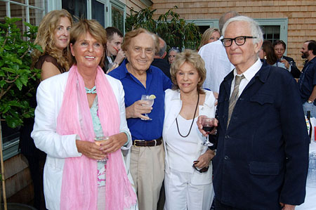 Beverly Camhe, Joe and Elisa Stein, and Albert Maysles