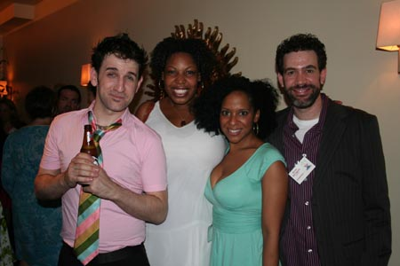 David A. Austin, Aurelia Williams, Carla Woods, and Kevin Del Aguila at If You Give a Mouse a Cookie Opens