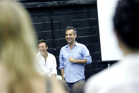 Photo Flash: London Wicked Rehearsals Begin