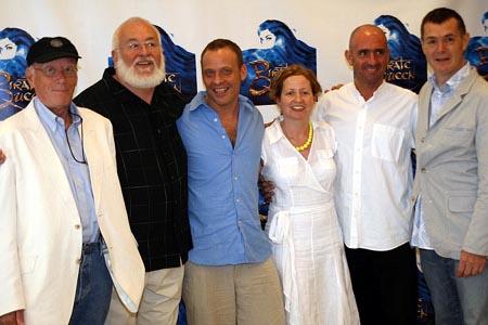 Eugene Lee, Frank Galati, Mark Dendy, Carol Leavy Joyce, Martin Pakledinaz at Pirate Queen Meet & Greet