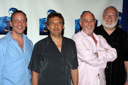 Mark Dendy, Alain Boublil, Claude-Michel Schönberg, and Frank Galati at Pirate Queen Meet & Greet