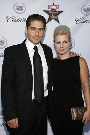 Michael Imperioli and Victoria Imperioli at Ebony's Red & White Ball