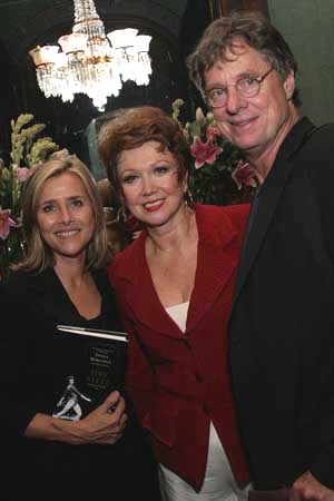 Meredith Vieira, Donna McKechnie and Richard Cohen at Donna McKechnie's TIME STEPS Released