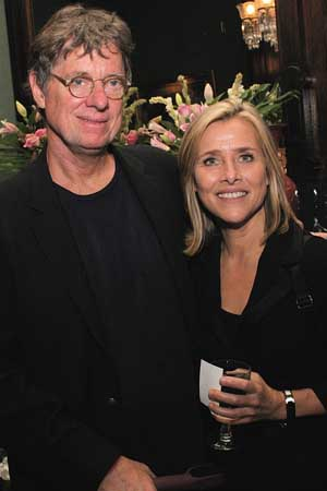 Richard Cohen and Meredith Vieira at Donna McKechnie's TIME STEPS Released