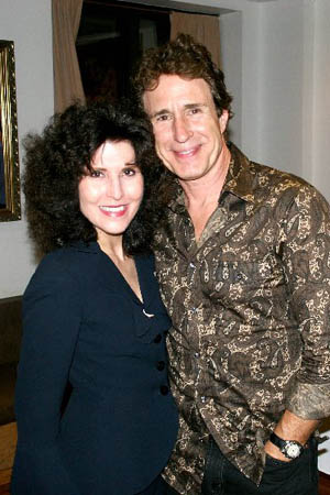 Liza Vann and John Shea at Machiavelli Opens Off-Broadway