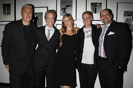 Peter Stern, Tom Smedes, Beverly MacKeen, Sean Byrnes and Carl White at Quest & Jones at Scavullo Gallery Opening