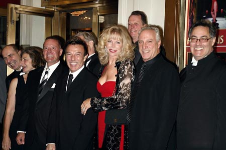 Wayne Cilento and original cast members at A Chorus Line Opening Night Arrivals