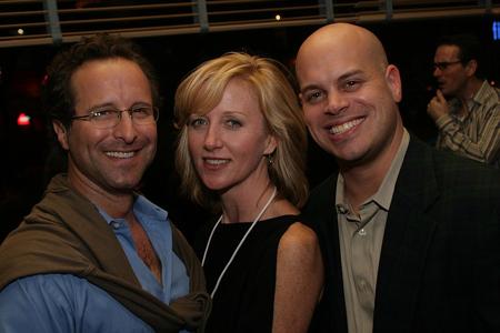 Andrew Asnes, Anastasia Barzee, and Jayson Raitt at NAMT Showcase and Reception