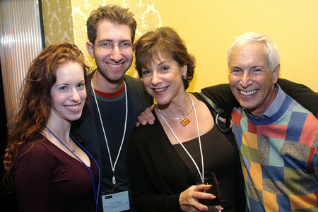 Elisabeth Schneider, Sam Carner, Jana Robbins, and Michael Price at NAMT Showcase and Reception