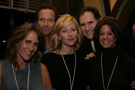 Tracy Aron, Andrew Asnes, Anastasia Barzee, Richard Kind, and Stefany Bergson at NAMT Showcase and Reception
