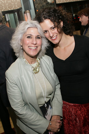 Jamie DeRoy and Carla Rose Arnone at NAMT Showcase and Reception