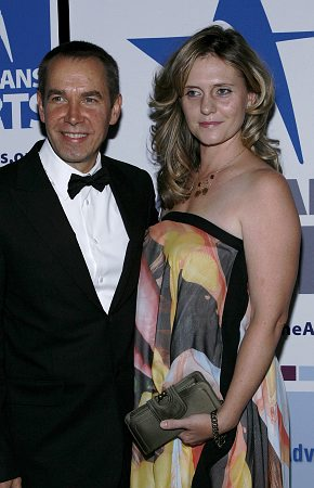 Jeff Koons and wife at Americans for the Arts National Arts Gala