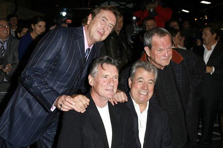 Eric Idle, Michael Palin, Terry Jones and Terry Gilliam at Spamalot London Gala Opening