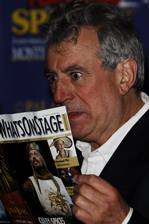 Terry Jones at Spamalot London Gala Opening