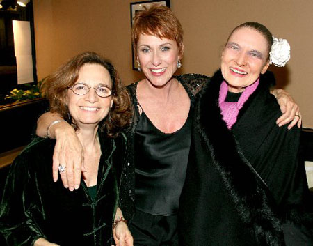 Michele Brourman, Amanda McBroom and Julie Wilson at McBroom at the Metropolitan Room