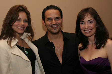 Jennifer Diaz, Rubén Flores and Jana Martinez at Rubén Flores and Jana Martinez Concert