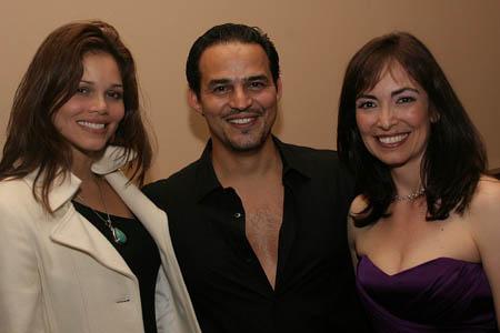 Jennifer Diaz, Rubén Flores and Jana Martinez at