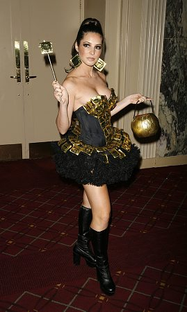 Julia Allison at Bette Midler's Hulaween Gala