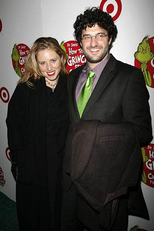 Amy Redford and Matt August at How the Grinch Stole Christmas! Opens