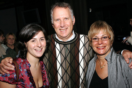 Erica Lynn Schwartz, Elwin Schwartz and Cheryl Schwartz at Striking 12 Opens Off-Broadway