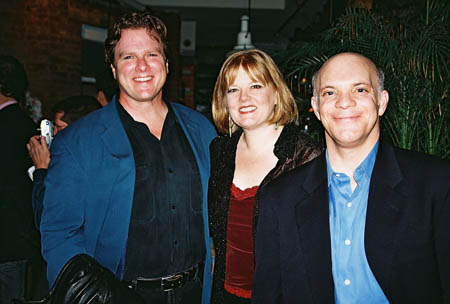 Bruce Johnson, Connie Pachl and Eddie Korbich at Broadway Unplugged 3