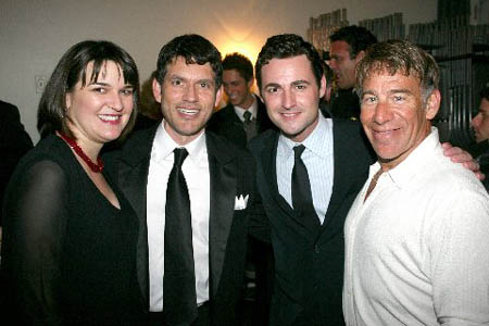 Cathy Venable, Preston Smith, Max von Essen and Stephen Schwartz at 'Broadway High Note' Concert